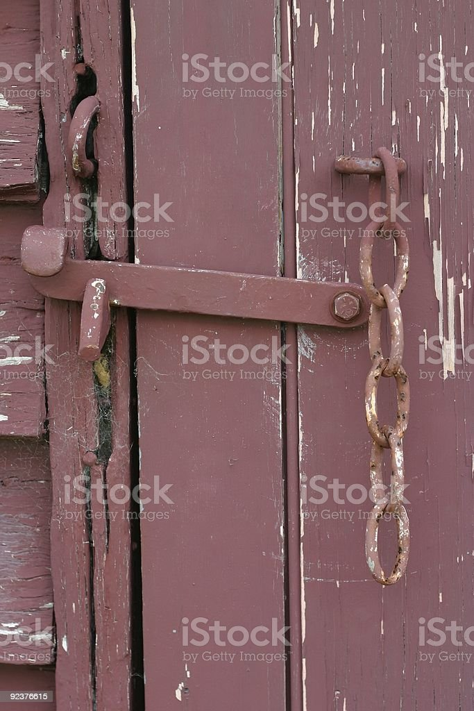 Old Door royalty-free stock photo