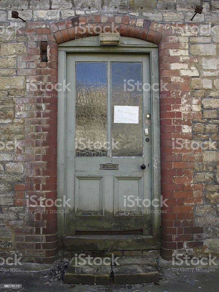 Old Door Way royalty-free stock photo