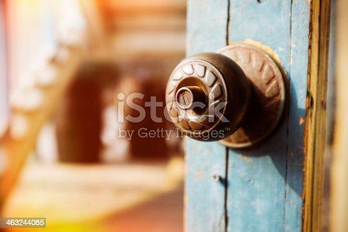 Old Doorknob and Keyhole