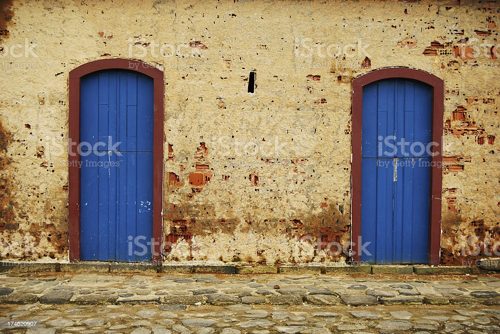 Old doors royalty-free stock photo