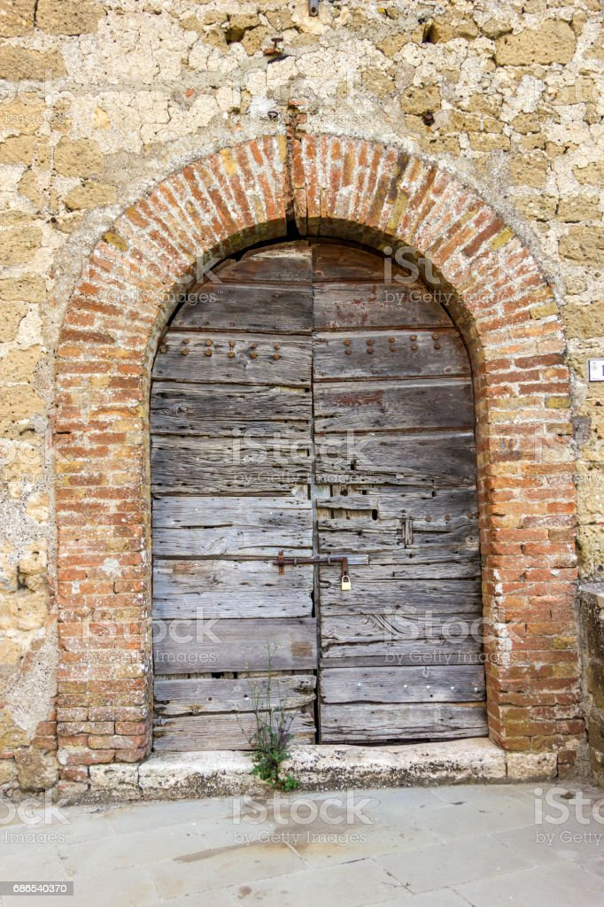 Old Doors foto stock royalty-free