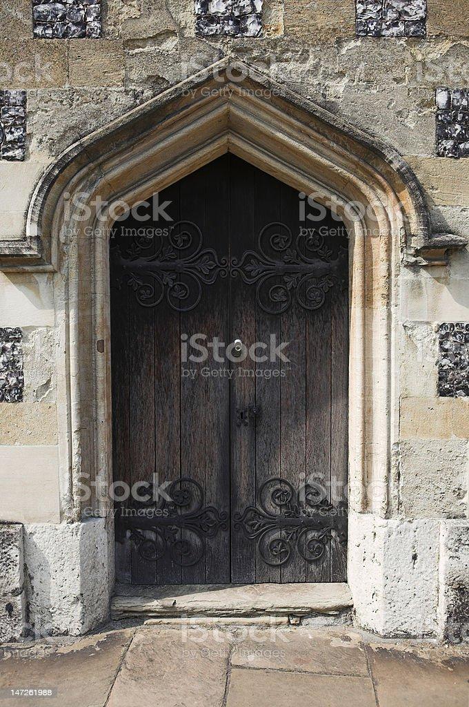 Old doorway royalty-free stock photo