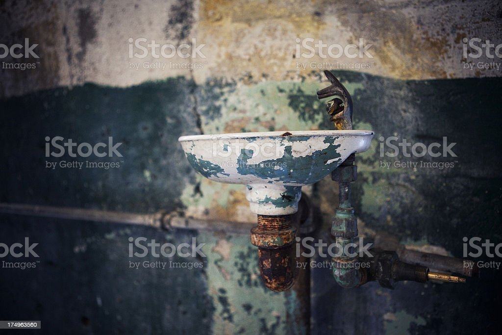 Old Drinking Fountain royalty-free stock photo