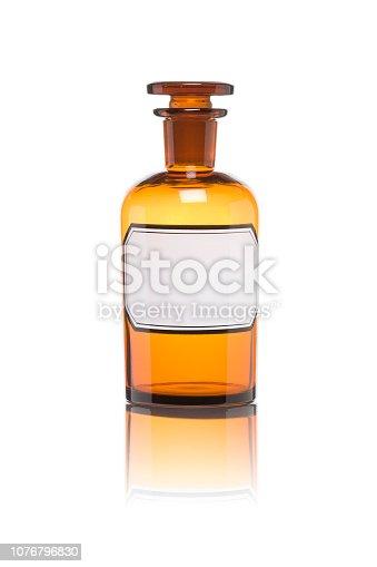 Old drugstore bottles