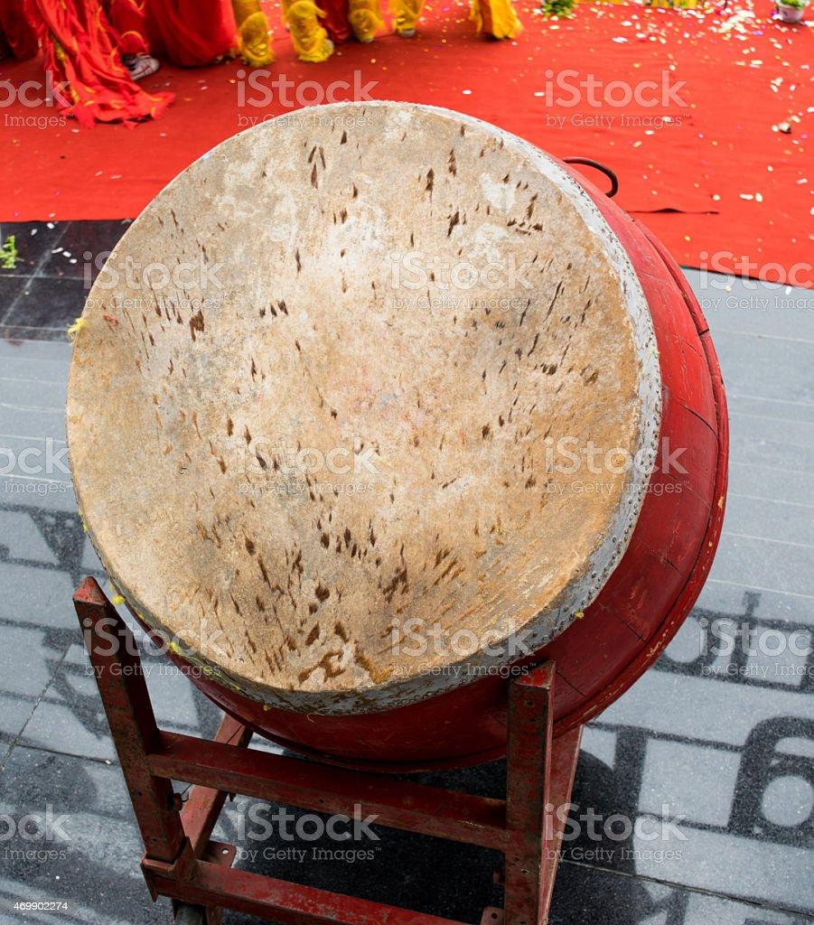 Old Drum stock photo