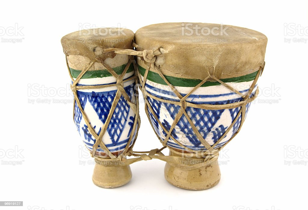 Old drums royalty-free stock photo