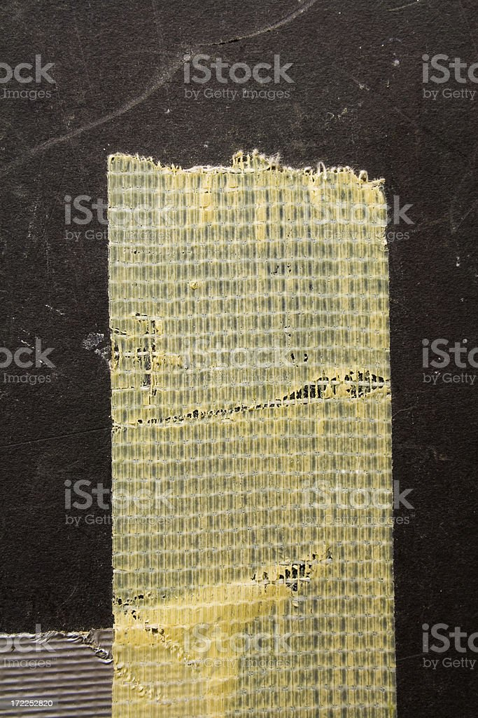 Old Duct Tape stock photo