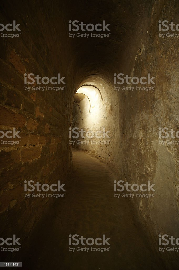 old dungeon royalty-free stock photo