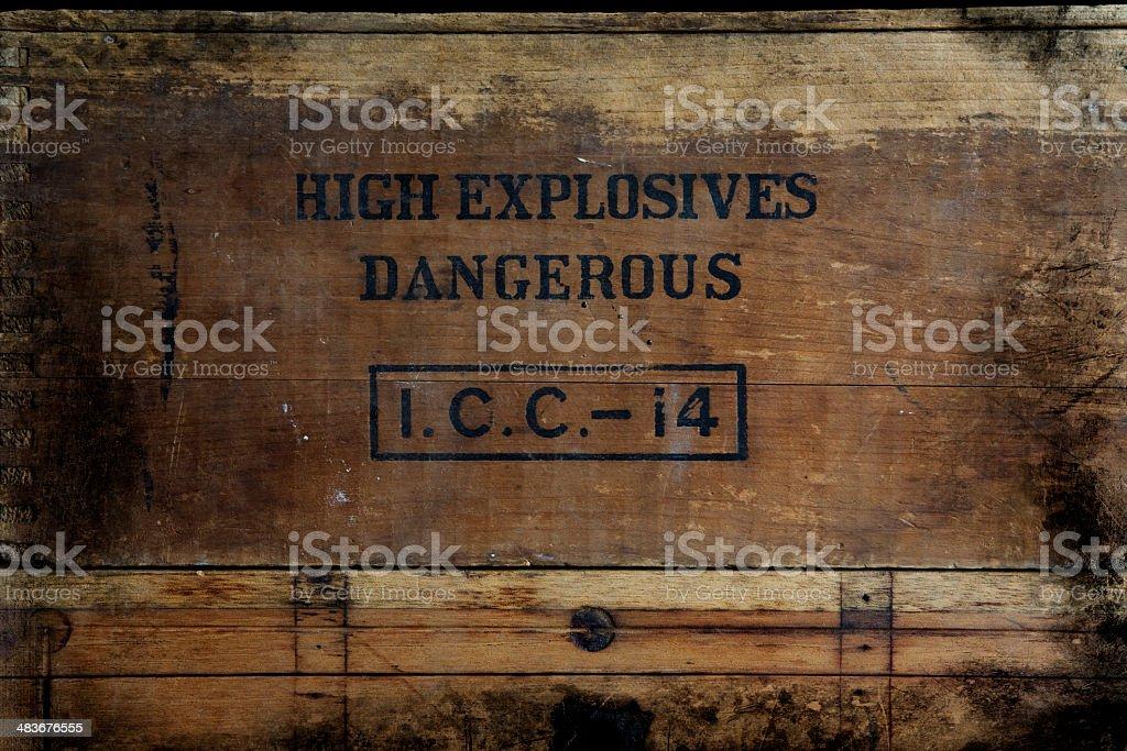 Old Dynamite Box – Foto