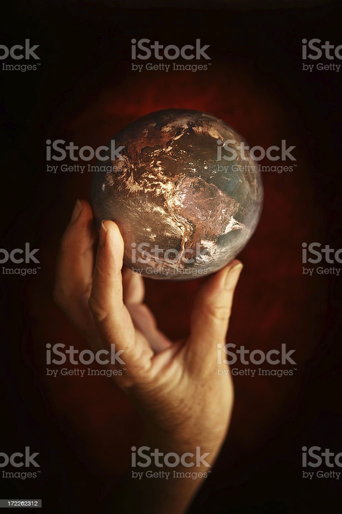 Old Earth royalty-free stock photo