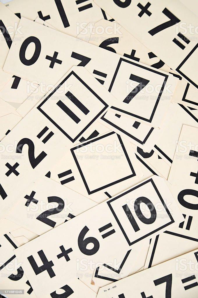 Fotografía de Old Educación Matemática Tarjetas De Memoria Flash ...