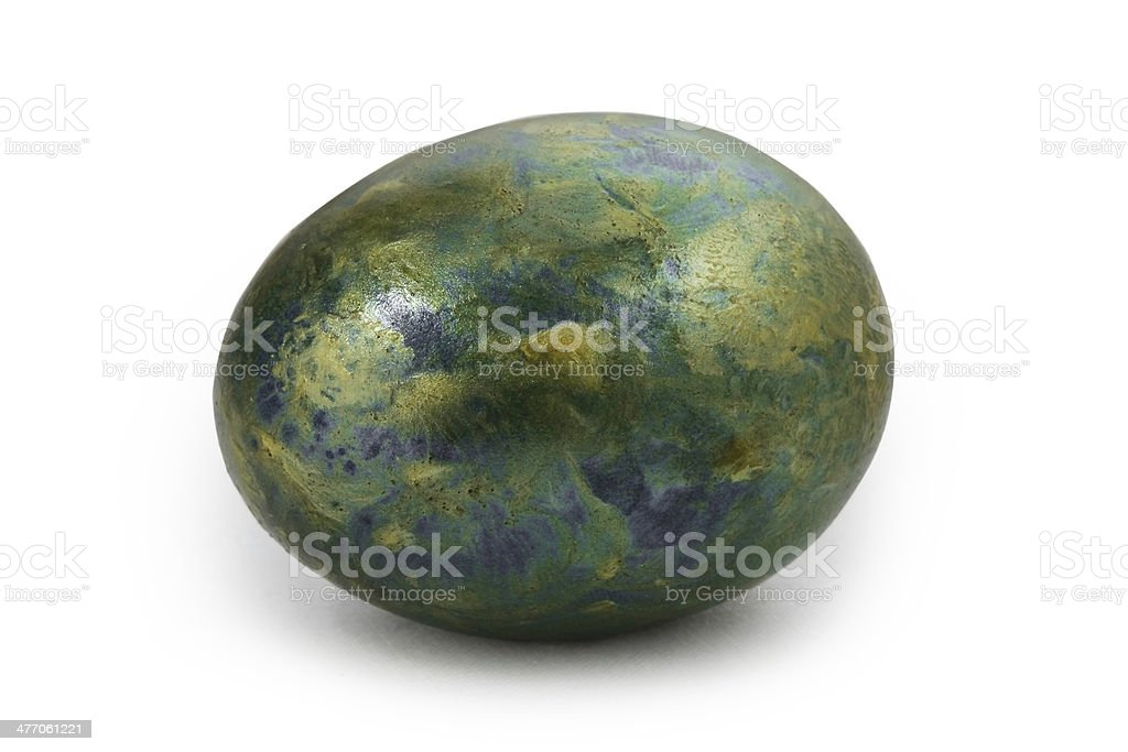 Old egg stock photo