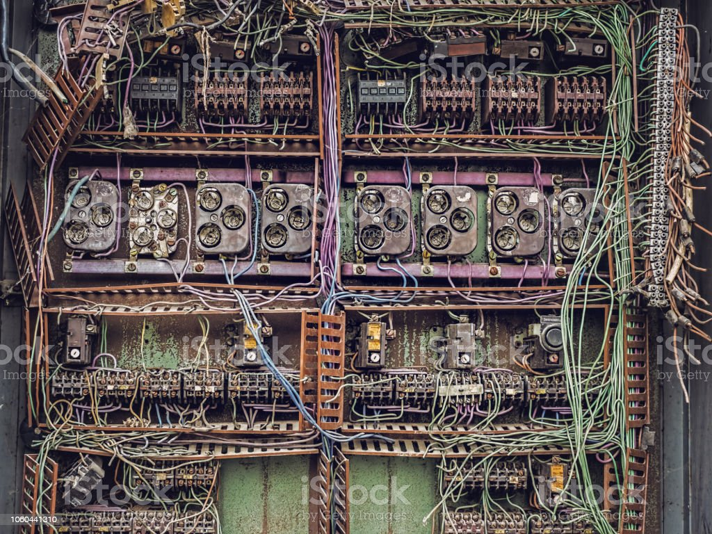 Old Electric Panel Stock Photo - Download Image Now - iStock on