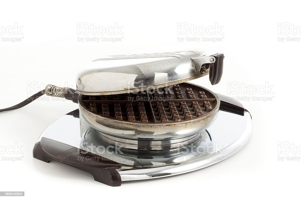 old electrical waffles stock photo