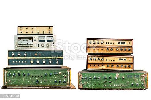 istock old electronic audio control knob 940438248
