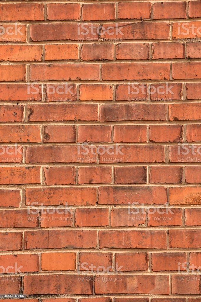 Alte leere Ziegel Haus Fabrik Wand mit roten Ziegelsteinen – Foto