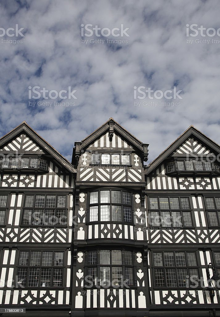 Old English Architecture royalty-free stock photo