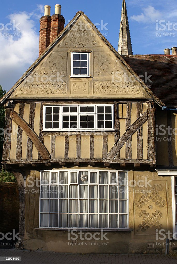 Old English house royalty-free stock photo
