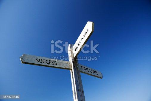 istock Old English signpost 157473610