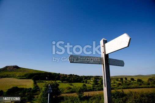 istock Old english signpost 182211283