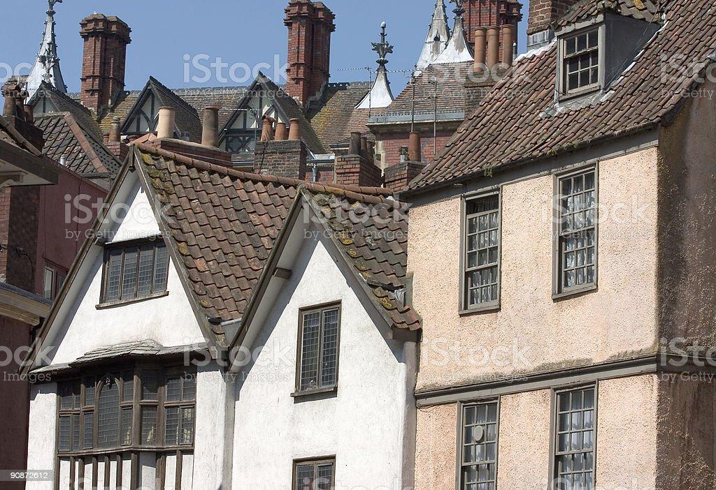 Old English Street Haus Architektur Stockfoto Und Mehr Bilder Von