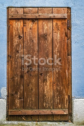 Old entrance wooden door-2