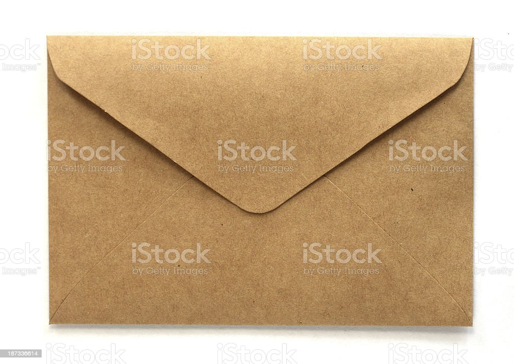 Old Envelop stock photo