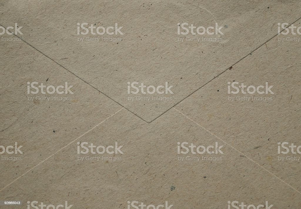 Old Envelope stock photo