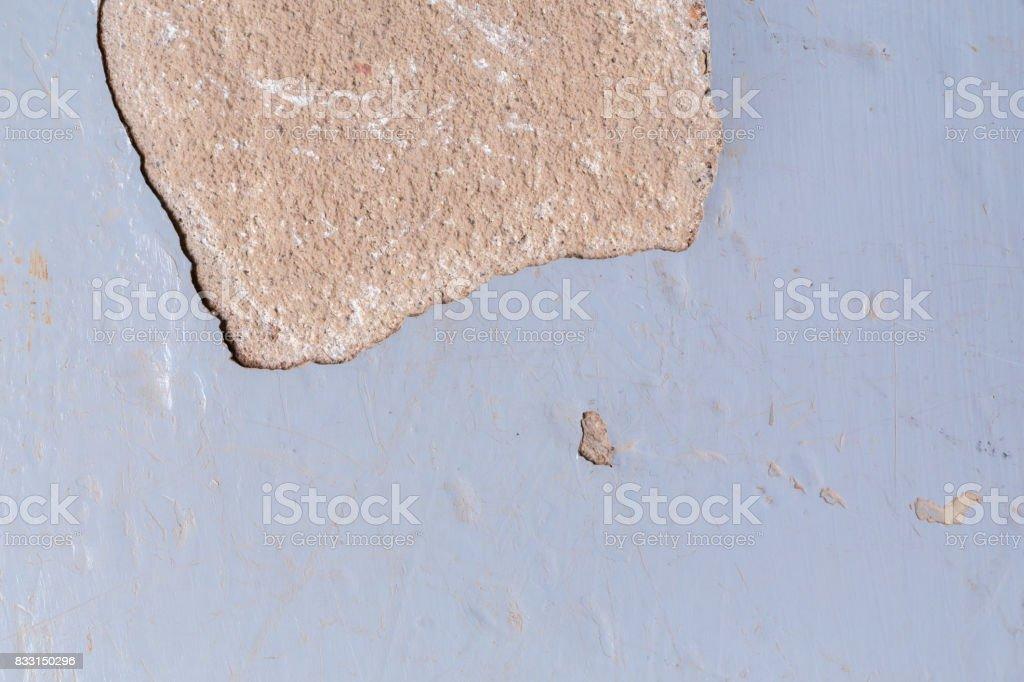 old epoxy floor stock photo