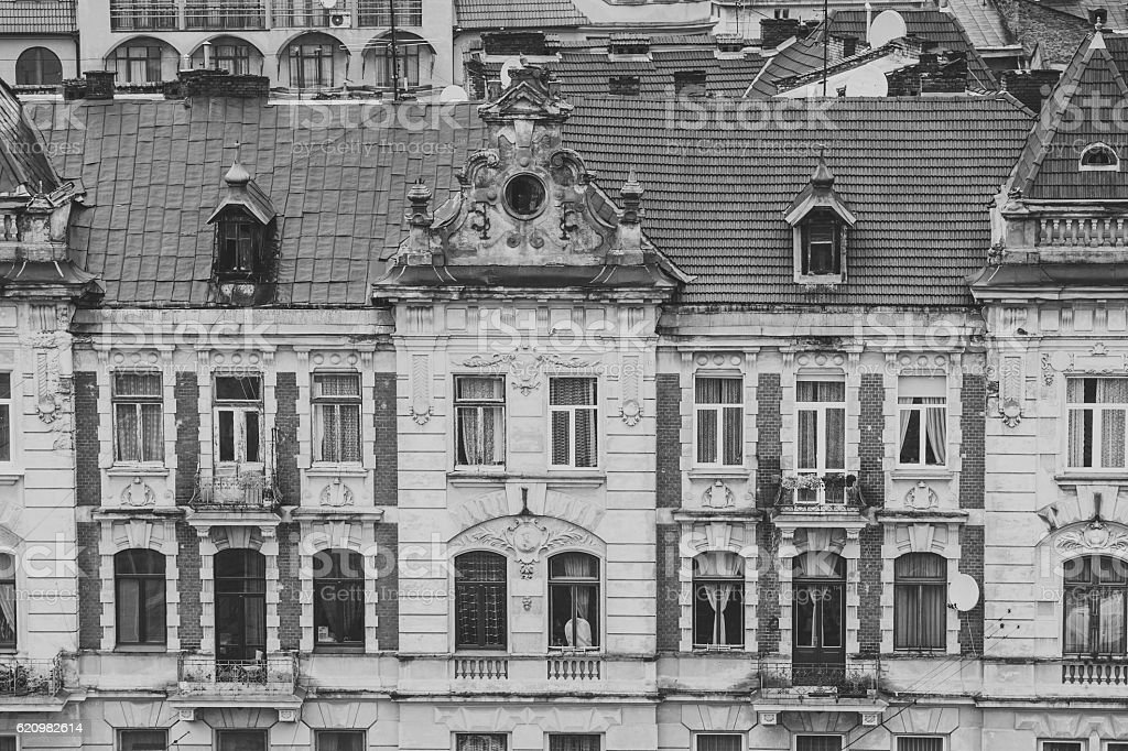 Old european city Lviv foto royalty-free