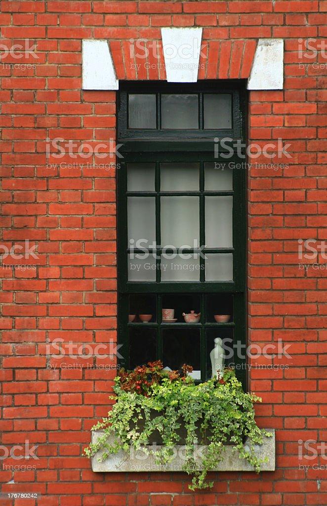 old european style window royalty-free stock photo