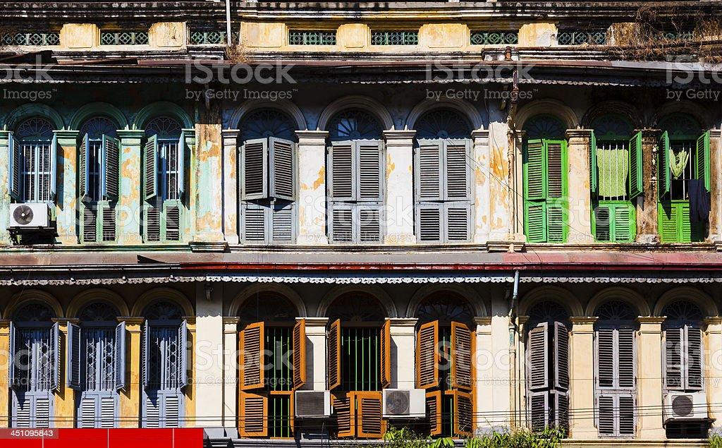 european style windows doors old european style windows in yangon myanmar royaltyfree stock photo style windows in yangon stock photo more