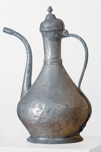 istock old (copper - aluminum) ewer or pitcher 1173025722