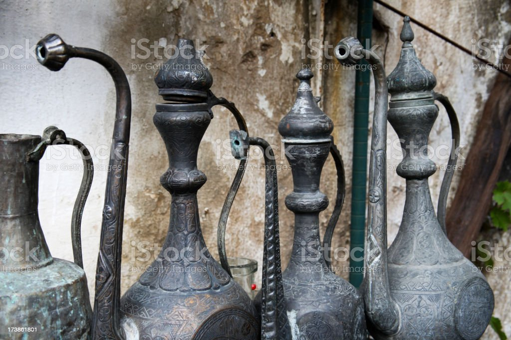 Old Ewers royalty-free stock photo