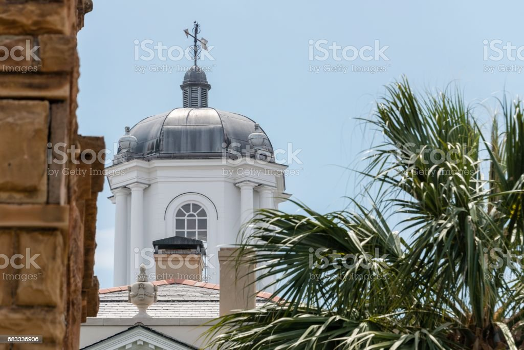 Old Exchange and Provost Dungeon, Charleston, South Carolina royalty-free stock photo