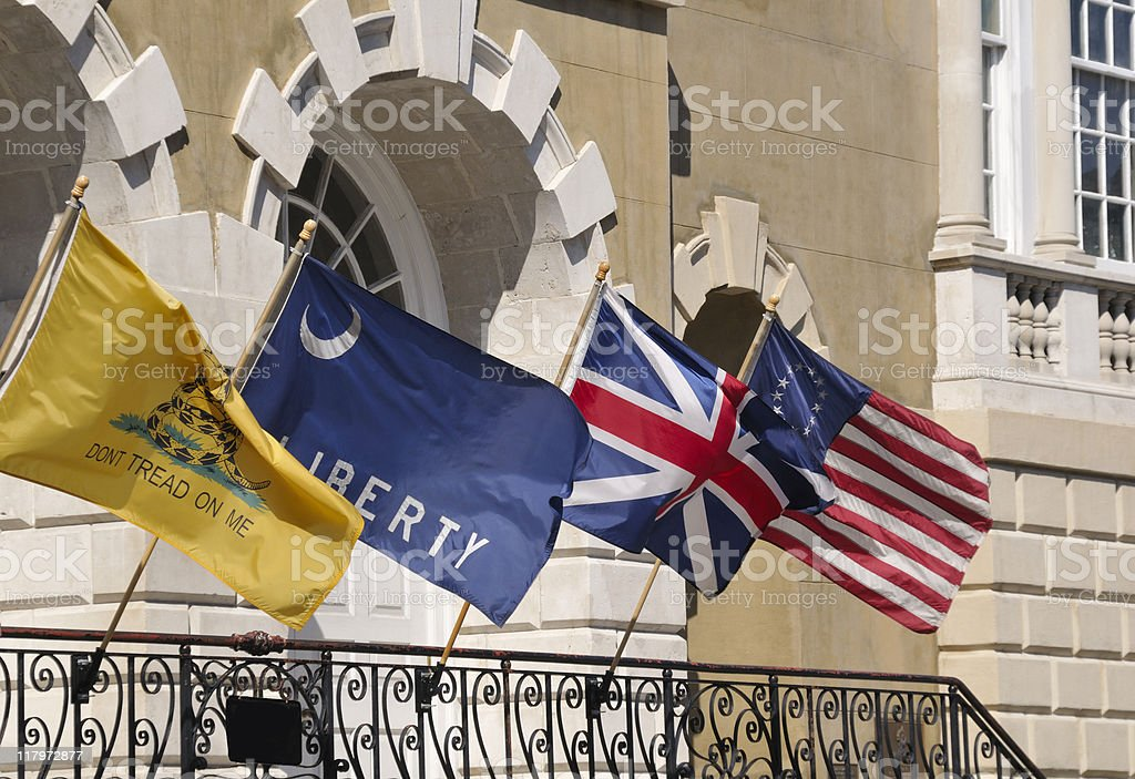 Old Exchange Building, Charleston, South Carolina royalty-free stock photo