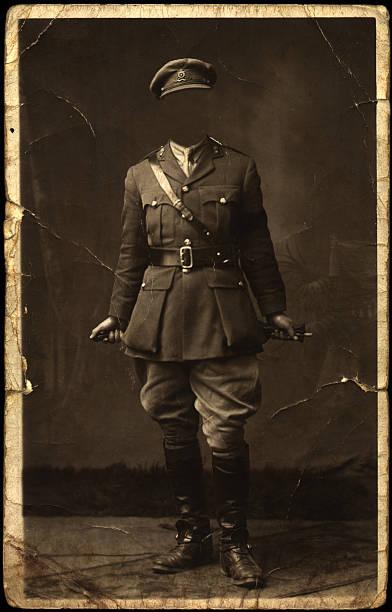 La posture du visage soldier - Photo