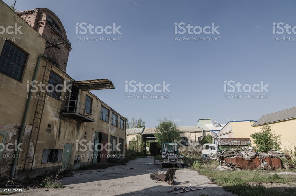 old factory grounds