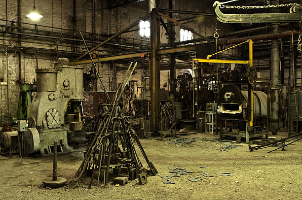 Old factory interior