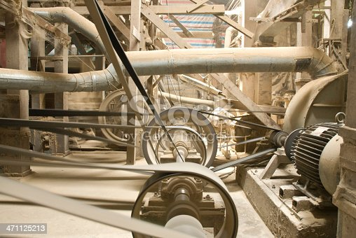 The inner workings of a rice mill