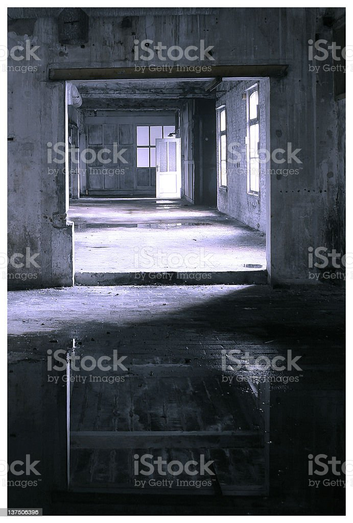 Old factory urban royalty-free stock photo