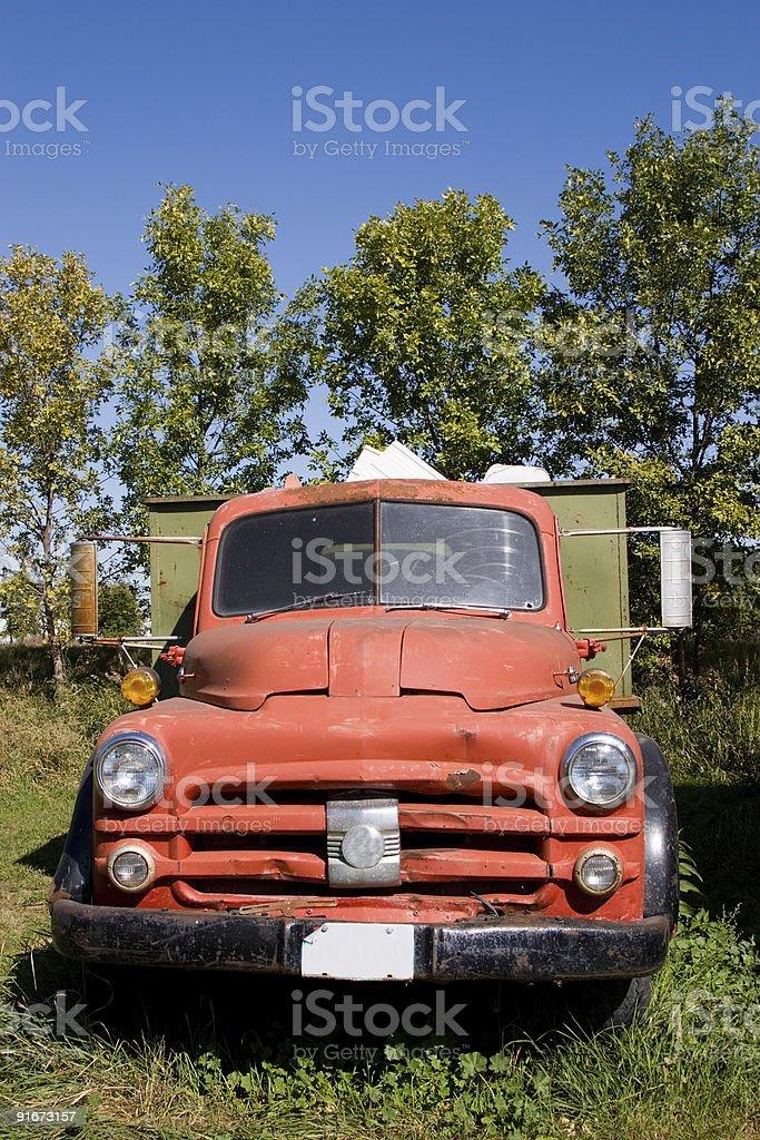 Old Fargo Truck royalty-free stock photo