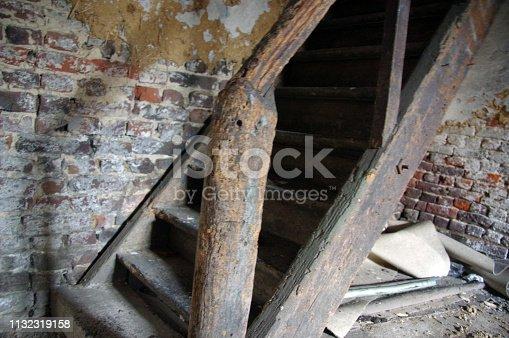 Old demolished farrnhouse
