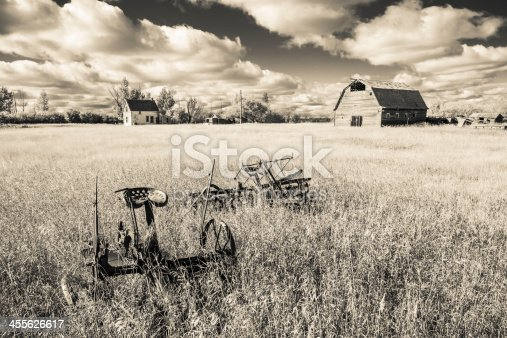 istock Old Farm Yard 455626617