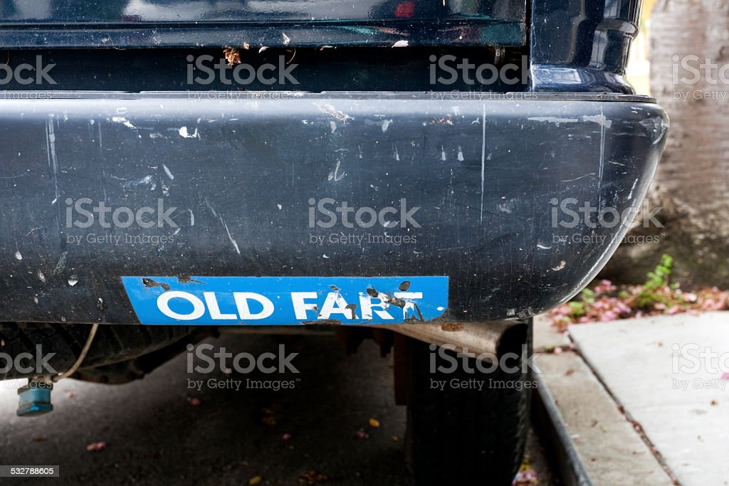 Old Fart stock photo