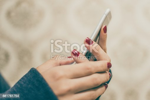 istock Old fashion and new technology 681761754