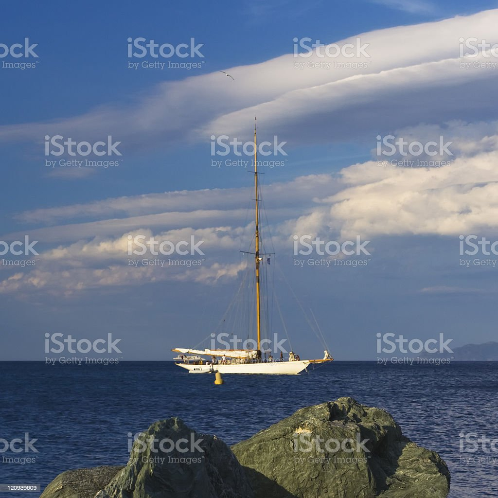 old fashion clipper royalty-free stock photo