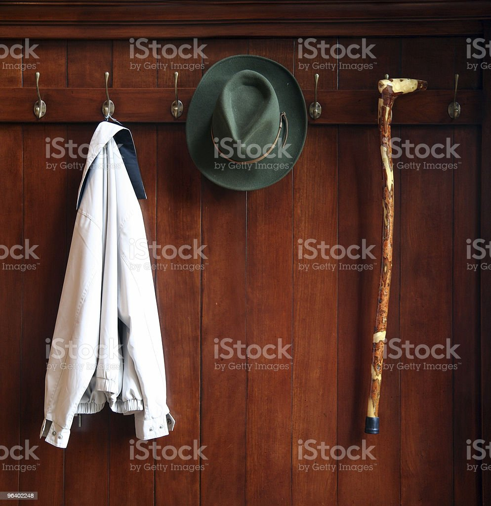 Old fashion clothes stock photo