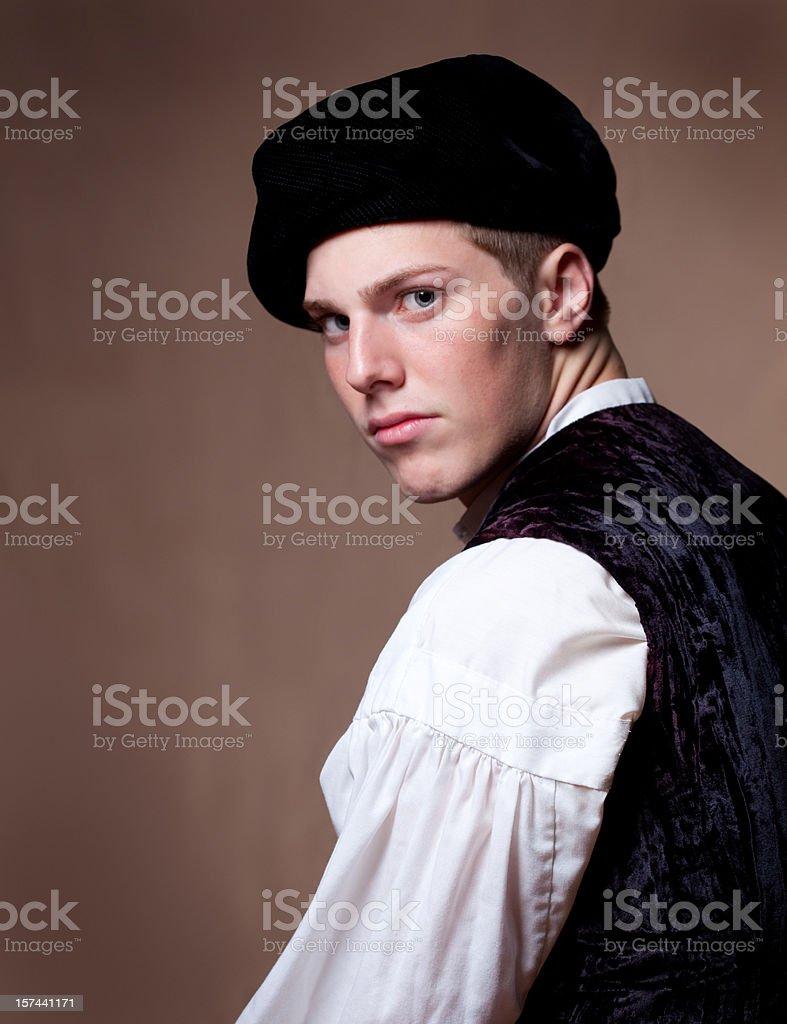 Old Fashion Man stock photo