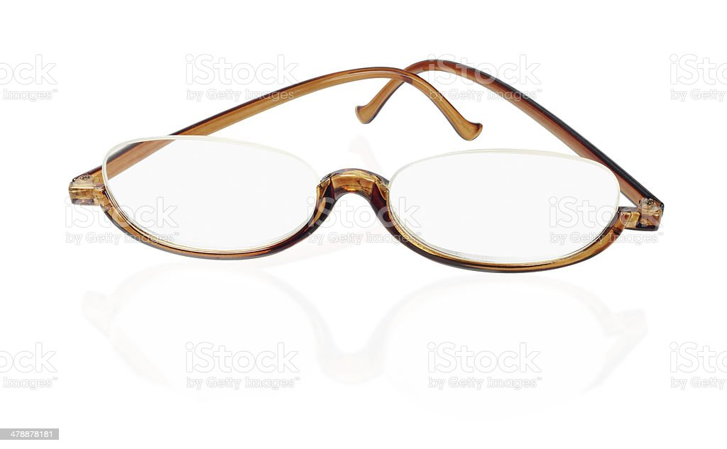 Old Fashion Spectacles stock photo